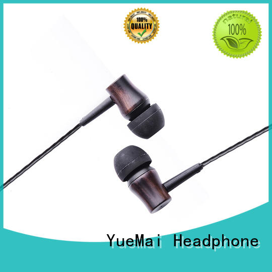 ymweb beat style wood earphone ymwwn for mobile and computer YueMai Acoustic Technology