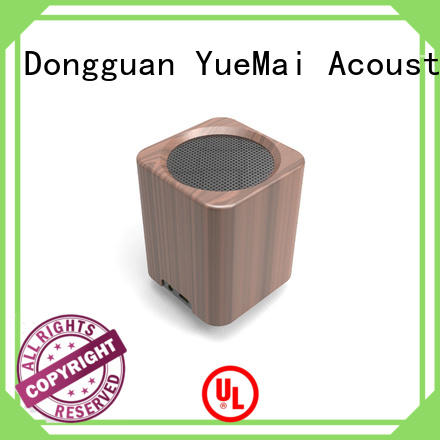 YueMai Acoustic Technology Brand home clear wooden portable speaker