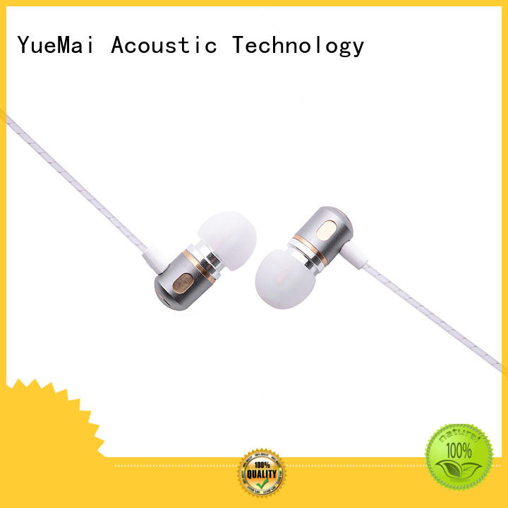dual driver earphones metal without logo for sale
