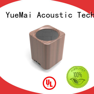 professional wooden wifi speaker with lithium battery for ipad YueMai Acoustic Technology