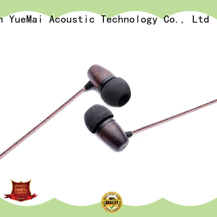 ymwwn headphones made of wood ymweb for sale YueMai Acoustic Technology