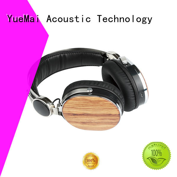 oem wood wireless headphones wholesale for adults