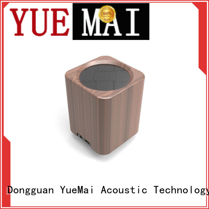 wooden cube speaker for iphone