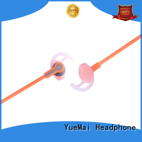 exercise headphones with inline microphone for both kids and adults YueMai Acoustic Technology