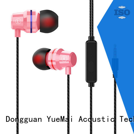 odm metal earbuds factory for sale
