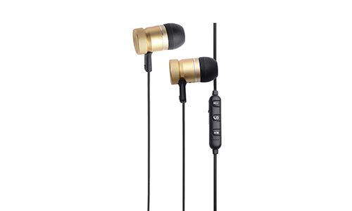 metallic metal earphones with microphone for sale-2