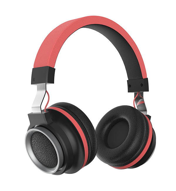 Matt finish wired headphones