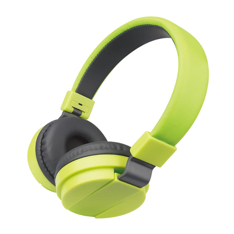 3.5mm colorful wired over ear headphone