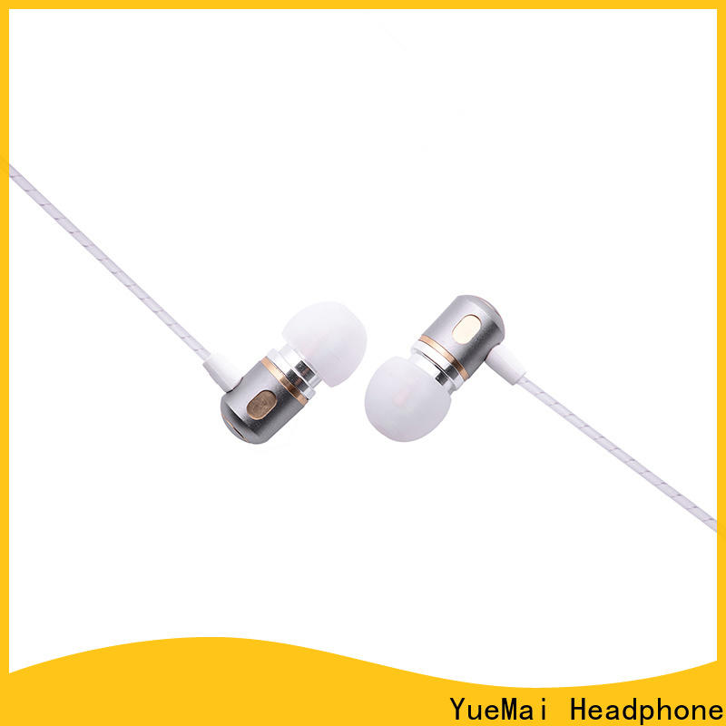 YueMai Acoustic Technology best earbuds for metal factory for adults