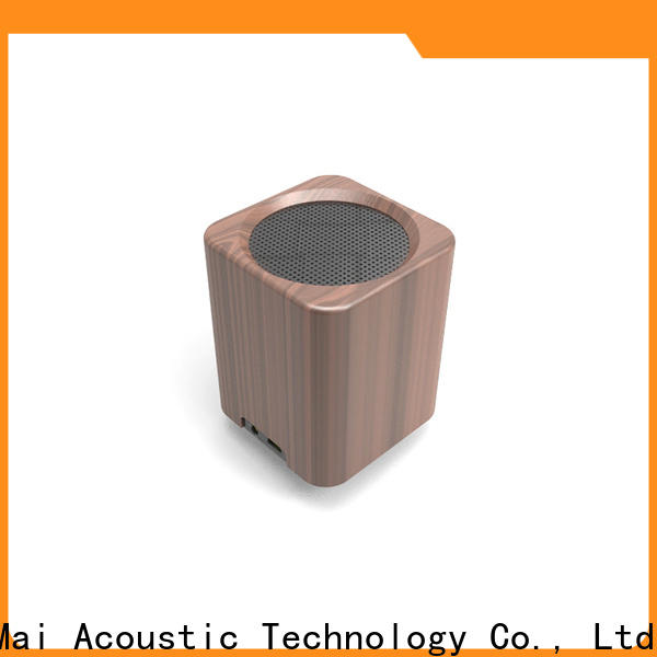 YueMai Acoustic Technology popular best wood for speakers directly sale for ipad