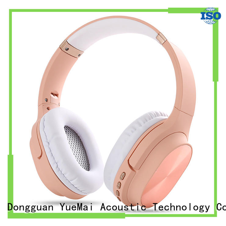 YueMai Acoustic Technology custom workout earphones factory for both kids and adults