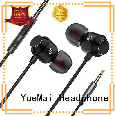 hands free metallic earbuds from China for sale