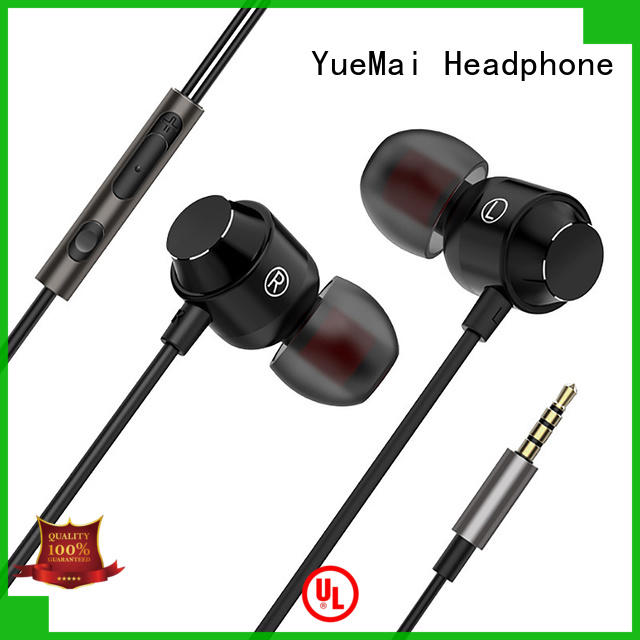 hands free metal earphones without logo for kids