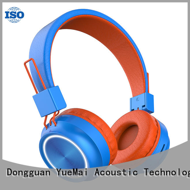 custom beats bluetooth running headphones with inline microphone for kids and adults