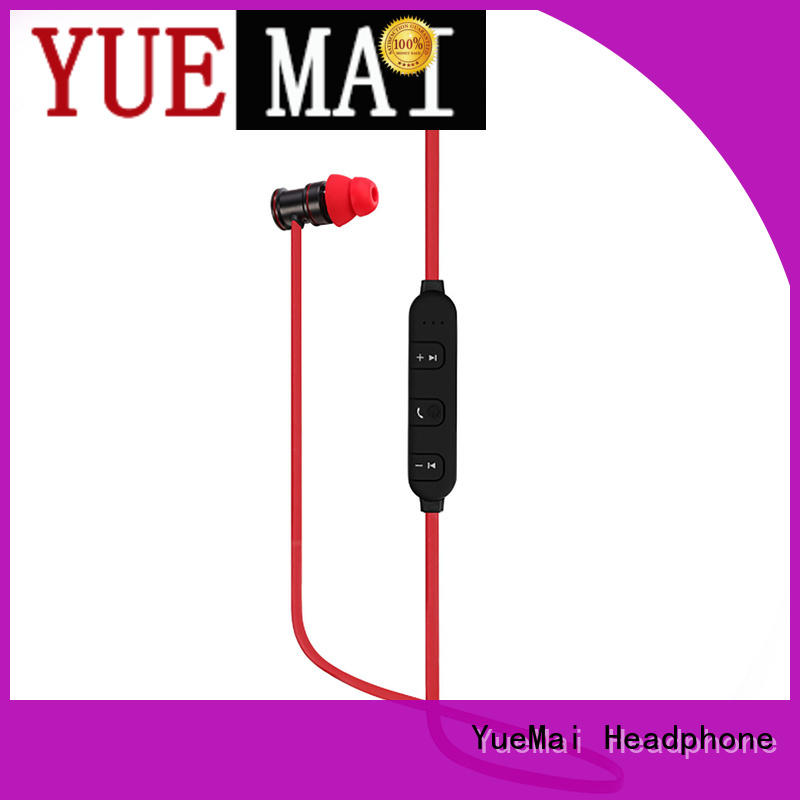 YueMai Acoustic Technology top quality metallic earbuds with microphone for sale