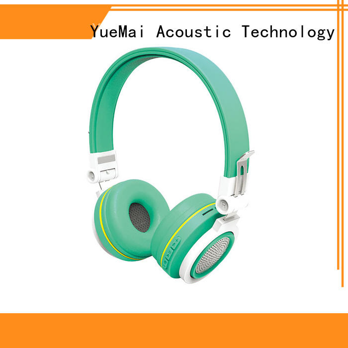 YueMai Acoustic Technology beats bluetooth running headphones factory direct supply for both kids and adults