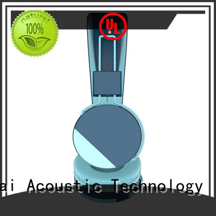 YueMai Acoustic Technology green kids headphone with food grade material for kids