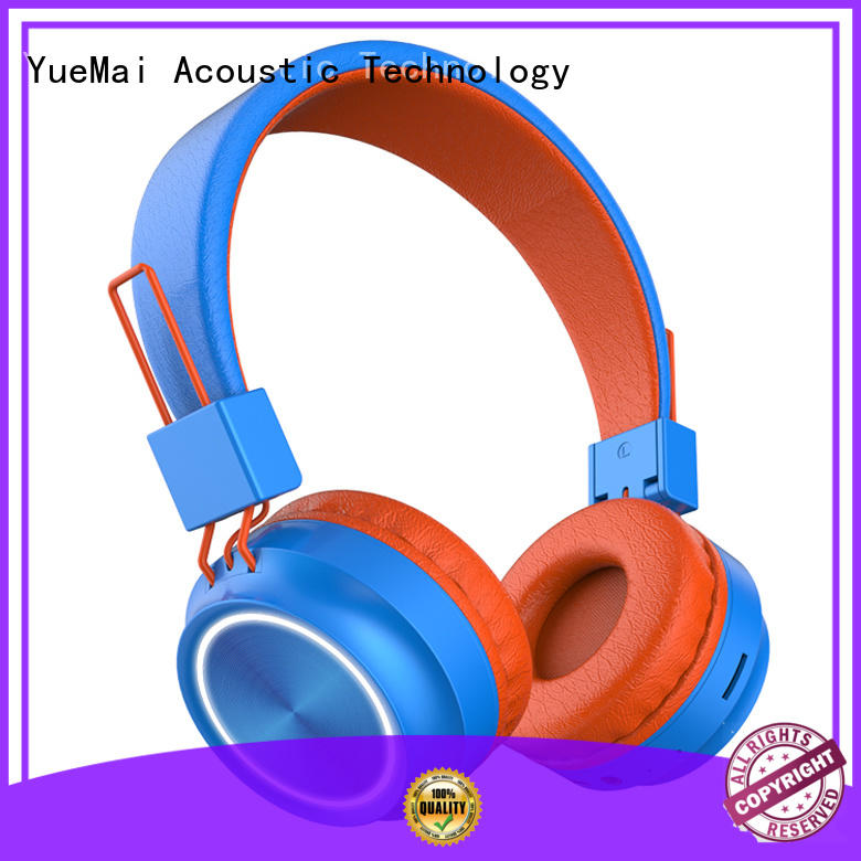 compact bluetooth headphones superior quality for adults YueMai Acoustic Technology