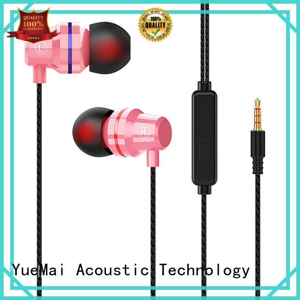 YueMai Acoustic Technology good in ear headphones from China for mobile