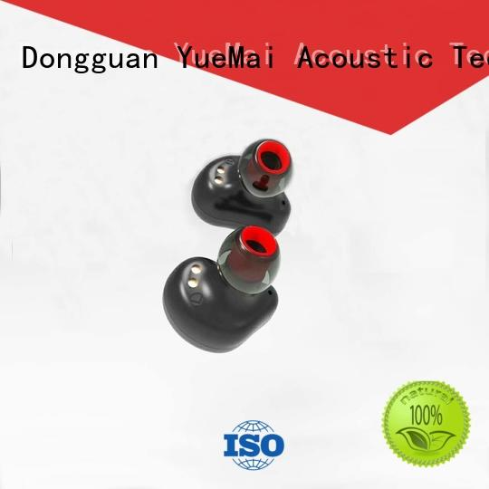 YueMai Acoustic Technology superior quality best bluetooth stereo headphones with logo for sale