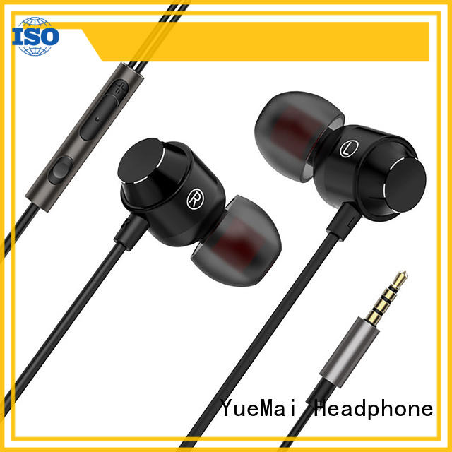 YueMai Acoustic Technology oem design best earbuds for metal wholesale for sale