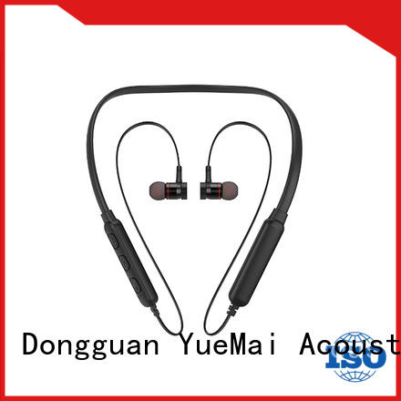 YueMai Acoustic Technology metal in ear headphones with logo for ipad