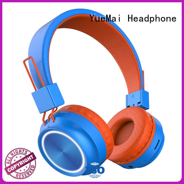 YueMai Acoustic Technology custom exercise headphones with great bass for kids and adults