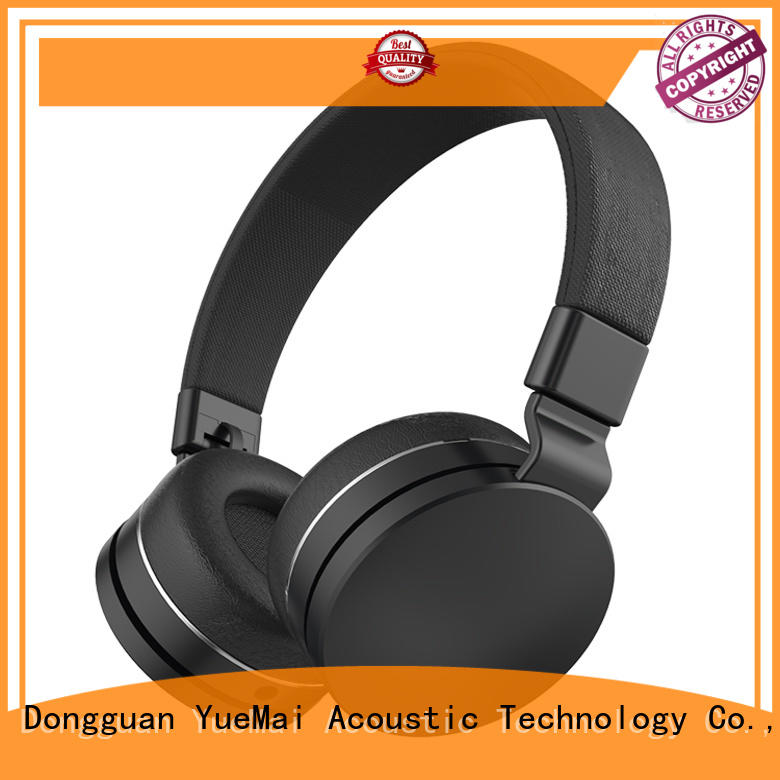 kids headphone with microphone for sale YueMai Acoustic Technology