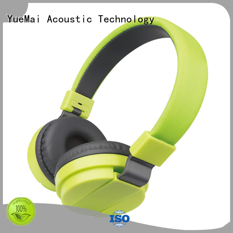 YueMai Acoustic Technology latest kids volume limited headphones wholesale for adults