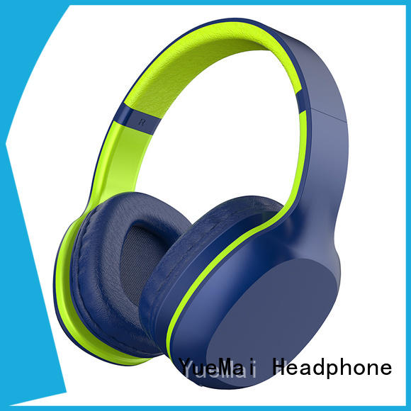 YueMai Acoustic Technology latest top rated workout headphones with microphone for kids and adults