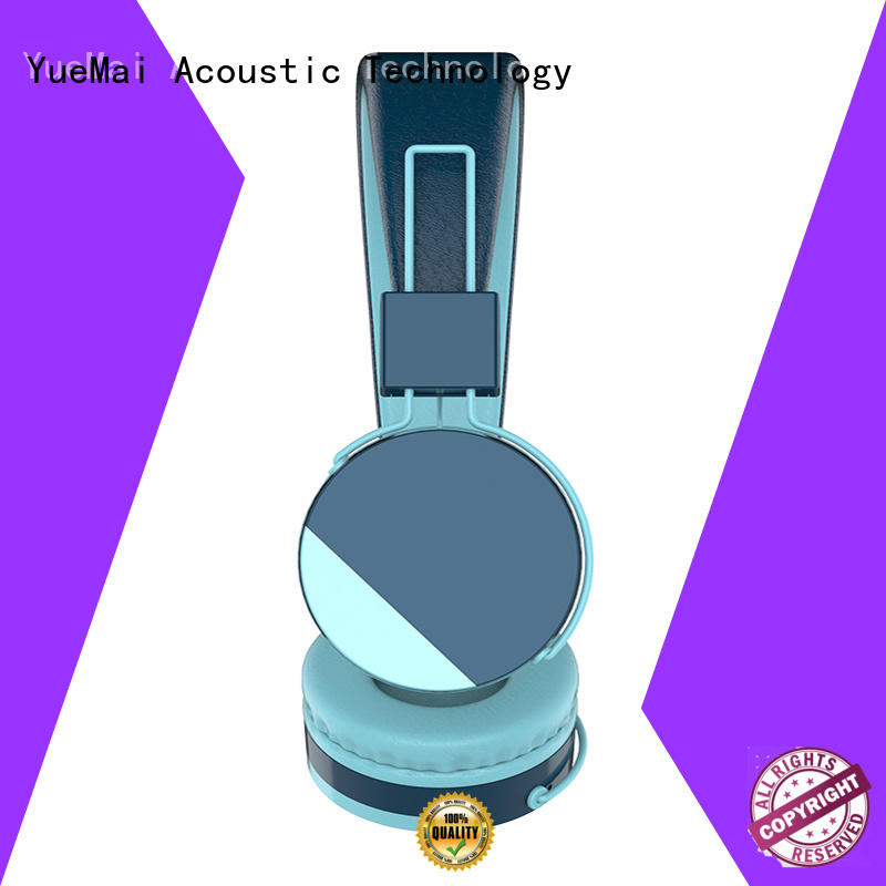 kids headphone with microphone for both kids and adults YueMai Acoustic Technology