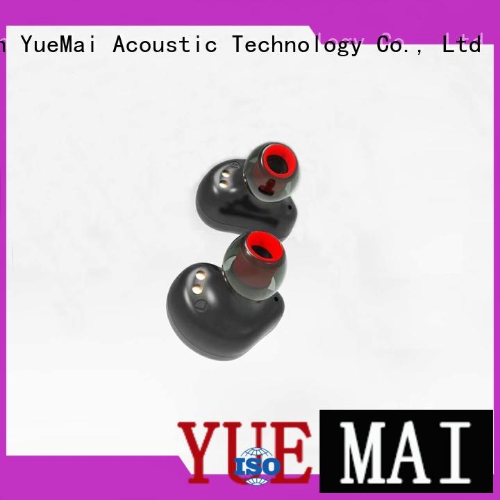 earpiece professional insulation sport YueMai Acoustic Technology Brand top rated bluetooth headphones supplier