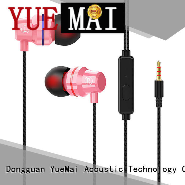 oem design metal earphones with microphone for sale