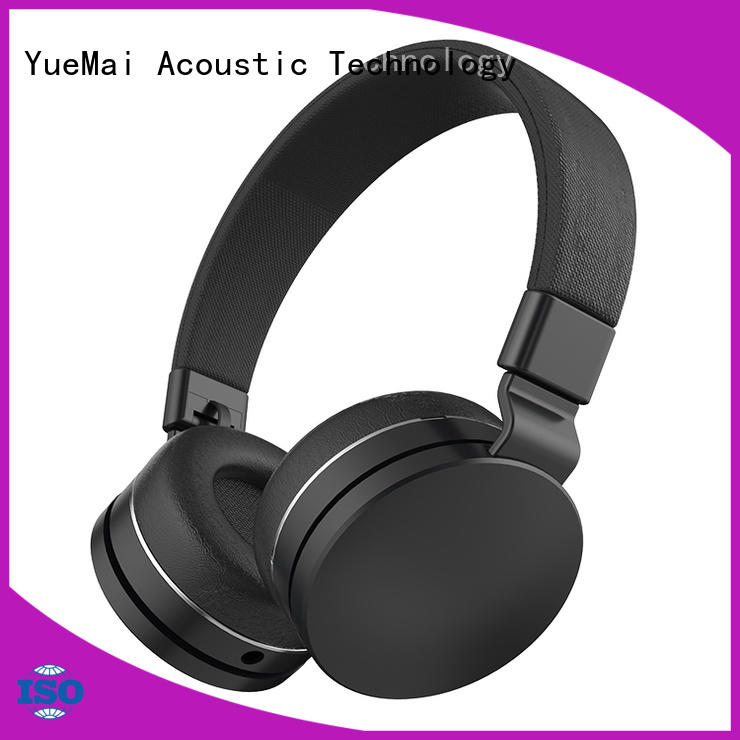 YueMai Acoustic Technology lightweight kid safe headphones from China for sale