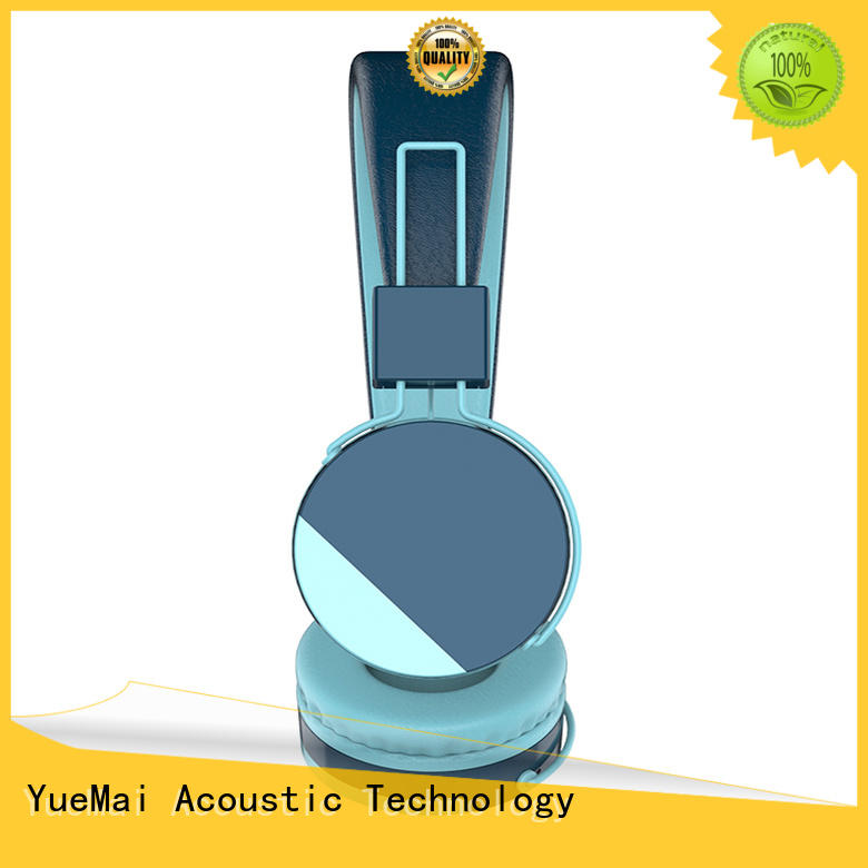 YueMai Acoustic Technology lightweight best children's headphones hot sale for both kids and adults