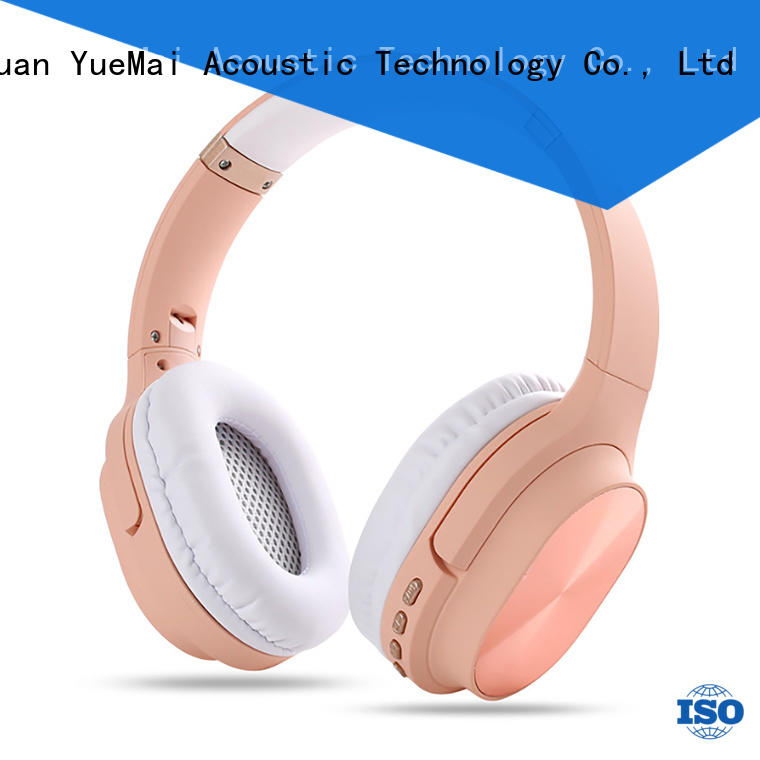 YueMai Acoustic Technology popular top rated workout headphones manufacturer for mobile