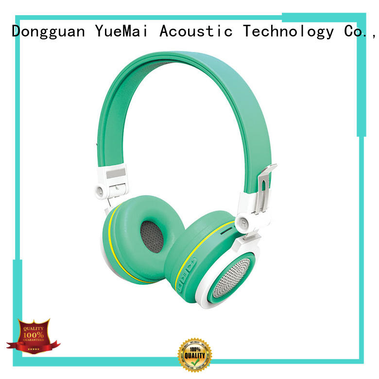 YueMai Acoustic Technology professional beats workout headphones series for kids