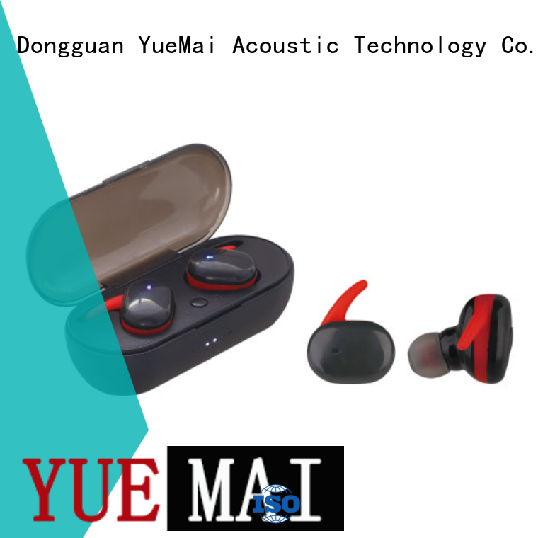 YueMai Acoustic Technology oem best bluetooth stereo headphones with logo for adults