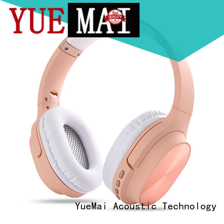 YueMai Acoustic Technology over ear compact bluetooth headphones headset for both kids and adults