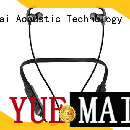 YueMai Acoustic Technology beautiful metal earphones directly sale for mobile