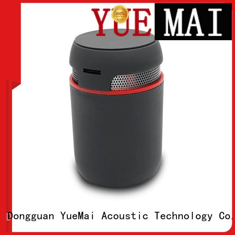 YueMai Acoustic Technology wooden bluetooth speaker wholesale for kids and adults